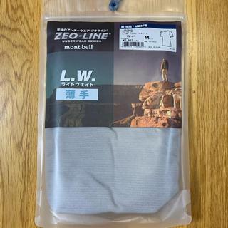 モンベル(mont bell)のモンベル アンダーウェア「ジオライン」Tシャツ メンズ Mサイズ(Tシャツ/カットソー(半袖/袖なし))