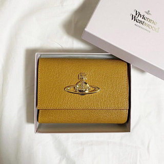 Vivienne Westwood - ヴィヴィアンウエストウッド 財布 折り財布 キャメル