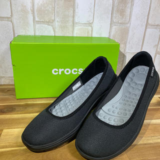 クロックス(crocs)のクロックス/Reviva フラット(レディース24.0cm)(スリッポン/モカシン)