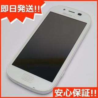 フジツウ(富士通)の超美品 F-06F らくらくスマートフォン3 ホワイト (スマートフォン本体)