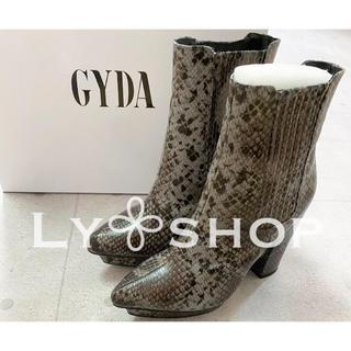 ジェイダ(GYDA)のGYDA 新品 アイランドストームサイドゴアブーツ ミックス Mサイズ(ブーツ)