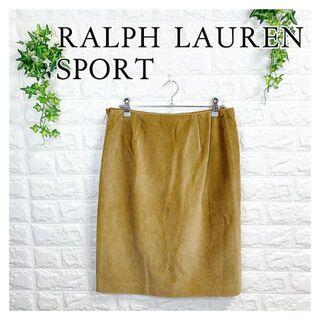 ラルフローレン(Ralph Lauren)の087 ラルフローレン コーデュロイ タイトスカート 11号 大きめ 美品(ミニスカート)