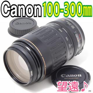キヤノン(Canon)の✨大迫力の望遠レンズ♪✨キヤノン Canon EF 100-300mm(レンズ(ズーム))