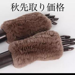 フォクシー(FOXEY)の❗️半額以下❗️高品質 natural Rex rabbit far moca(手袋)