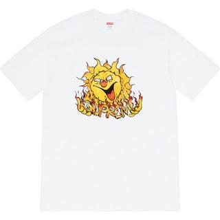 Supreme - supreme Sun Tee 白 サイズL 新品 未使用 20FW