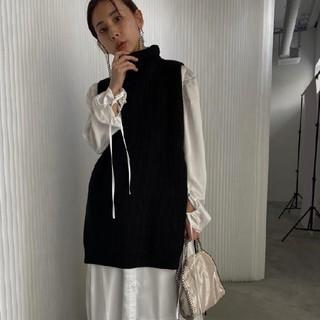 Ameri VINTAGE - 2020 新作完売品 AmeriVINTAGE ベストレイヤードシャツドレス