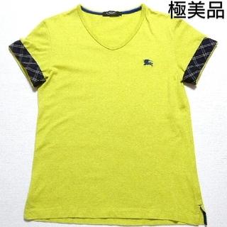 バーバリーブラックレーベル(BURBERRY BLACK LABEL)の🖤デザインTシャツ🖤極美品🖤(Tシャツ/カットソー(半袖/袖なし))