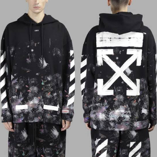 dude9  off-white Galaxyパーカー