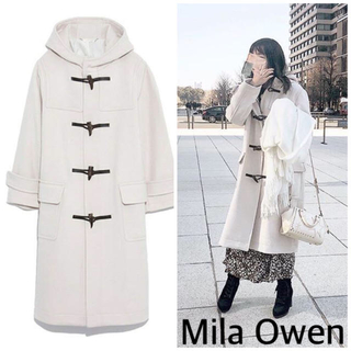 ミラオーウェン(Mila Owen)のMila Owen ミラオーウェン ダッフルコート ビッグシルエット(ダッフルコート)