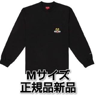 シュプリーム(Supreme)の送料込 Supreme Cat L/S Pocket Tee M(Tシャツ/カットソー(七分/長袖))