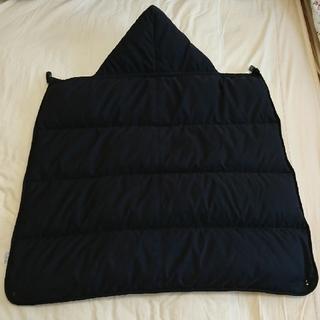 アカチャンホンポ(アカチャンホンポ)のダウン ケープ 防寒 ベビーカー 抱っこ紐装着可(外出用品)