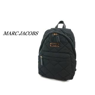 MARC JACOBS - MARC JACOBS マークジェイコブス リュック キルティング ブラック