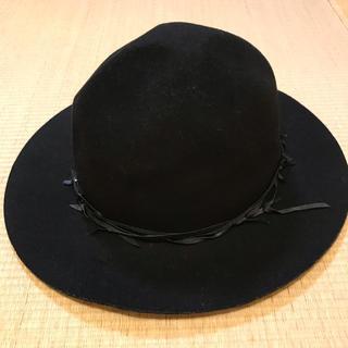 マウジー(moussy)のmoussy 黒ハット(ハット)