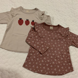 プティマイン(petit main)のプティマインロンT80センチ(Tシャツ)