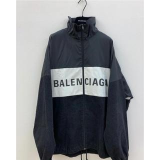 Balenciaga - バレンシアガ BALENCIAGA ロゴプリント トラックジャケット