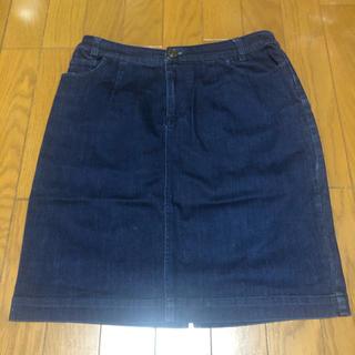 ローリーズファーム(LOWRYS FARM)のローリーズファーム デニムタイトスカート(ひざ丈スカート)
