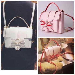 オープニングセレモニー(OPENING CEREMONY)のniels peeraer bell backpack baby pink(リュック/バックパック)