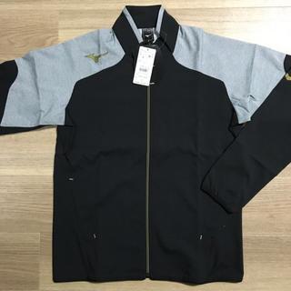 ミズノ(MIZUNO)の新品 ミズノ ジャケット ジャージ フルジップ M 黒 安売り 定価9350円(パーカー)