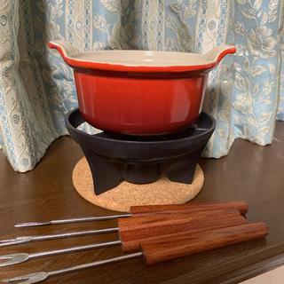ルクルーゼ(LE CREUSET)のルクルーゼ フォンデュ鍋 セット(鍋/フライパン)
