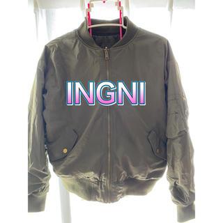 イング(INGNI)のイング MA-1 ブルゾン カーキ Mサイズ(ブルゾン)