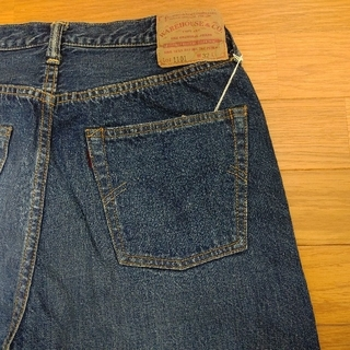 WAREHOUSE - 補足 ① WAREHOUSE 2ND-HAND 1101 USED WASH 濃