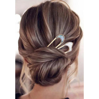 ALEXIA STAM - SALE!shell hair stick-beige-