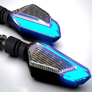 高品質 LEDウインカー デュアルカラー ポジション 2個セット ホンダ