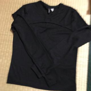 エイチアンドエム(H&M)のh&mカットソー ハロウィン ロンT黒 新品(Tシャツ(長袖/七分))