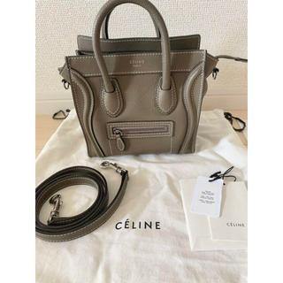 celine - CELINE セリーヌ ラゲージ ナノ ショルダーバッグ