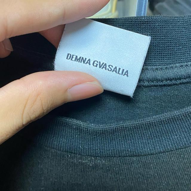 Balenciaga(バレンシアガ)の(即日発送)vetements 韓国限定 バックプリントスカルTシャツ メンズのトップス(Tシャツ/カットソー(半袖/袖なし))の商品写真