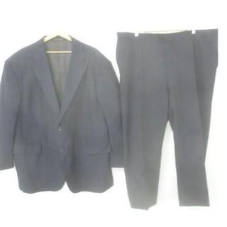 良品 スーツ 上下セット ストライプ 131 127 175 紺 メンズ(セットアップ)