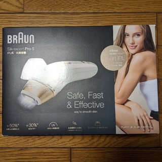 BRAUN - ブラウン BRAUN 光脱毛器 シルクエキスパートpro5 PL-5117