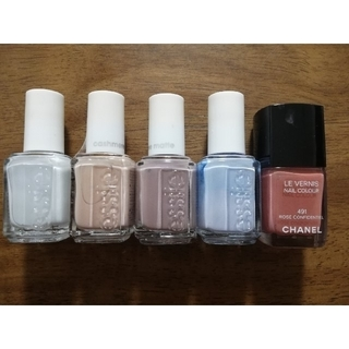 CHANEL - CHANEL&essieネイル5点セット