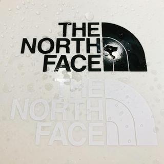 THE NORTH FACE - ノースフェイス THE NORTH FACE カッティングステッカー 2枚セット
