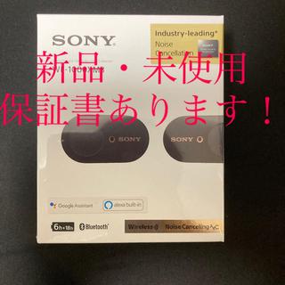 SONY - 【新品・未開封】 SONY WF-1000XM3 (B) ワイヤレス イヤホン