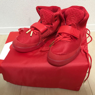 NIKE - NIKE air yeezy 2 red october 新品未使用27.5cm