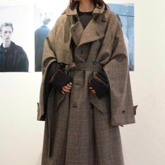 COMOLI(コモリ)のstein 19aw Mサイズ メンズのジャケット/アウター(トレンチコート)の商品写真