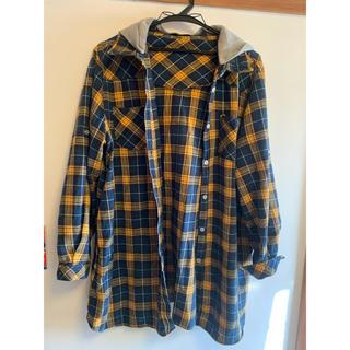 チェックシャツ 大きめサイズ 3L(シャツ/ブラウス(長袖/七分))