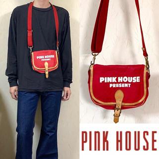ピンクハウス(PINK HOUSE)の90's PINK HOUCE ピンクハウス ショルダーバッグ サコッシュ(ショルダーバッグ)