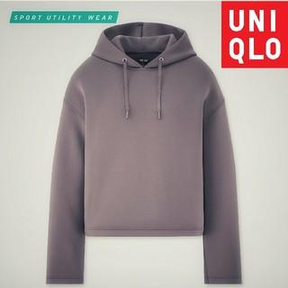 UNIQLO - ★完売人気色 UNIQLO ドライソフトスウェットプルパーカ(長袖)