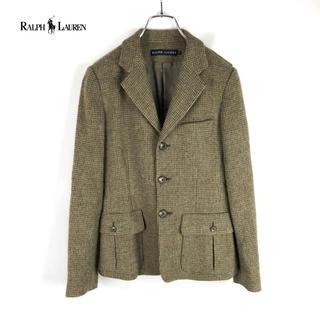 ラルフローレン(Ralph Lauren)の【Ralph Lauren】ウール ツイード テーラードジャケット(テーラードジャケット)