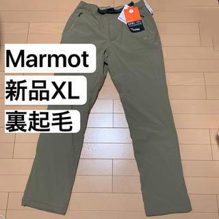 マーモット(MARMOT)の新品XL マーモット Marmot  アクトイージーウォームパンツ  裏起毛(登山用品)