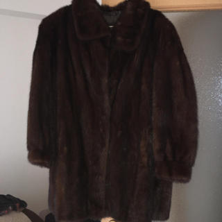 ロキエ(Lochie)のミンク 本革 毛皮 コート ジャケット ファー ファーコート(毛皮/ファーコート)