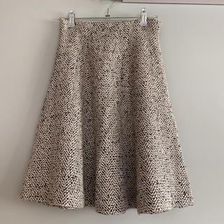 PROPORTION BODY DRESSING - ツイードフレアスカート