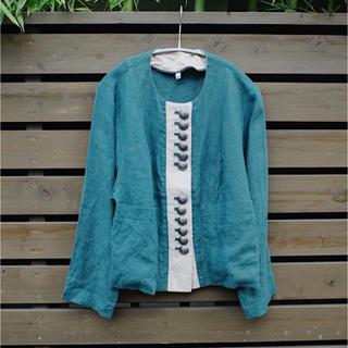 アメリヴィンテージ(Ameri VINTAGE)のLinen Tyrolean jacket(テーラードジャケット)
