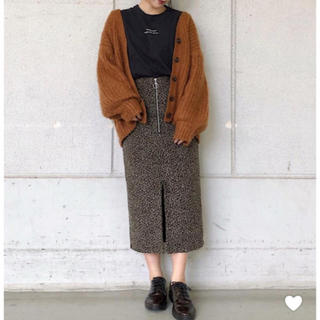 PAGEBOY - PAGEBOY ヒョウ柄スカート レオパード