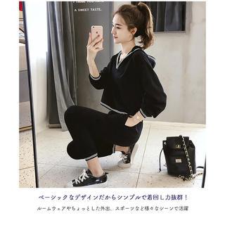 人気 2XL 韓国 韓国ファッション セットアップ ルームウェア 上下セット (ルームウェア)