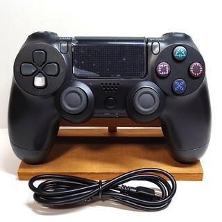 PlayStation4 - ★新品★ps4 ワイヤレスコントローラー デュアルショック 互換品 【ブラック】