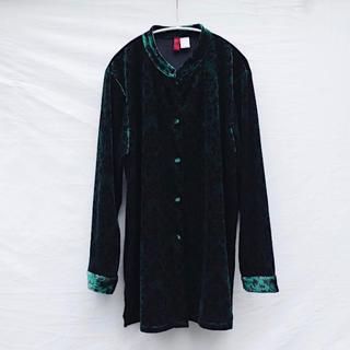 アメリヴィンテージ(Ameri VINTAGE)のVintage JQD Velour geisha blouse(シャツ/ブラウス(長袖/七分))