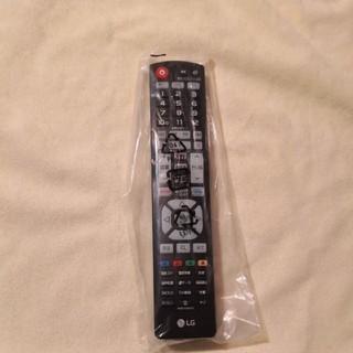 エルジーエレクトロニクス(LG Electronics)の新品! LG テレビリモコン AKB74455432(その他)